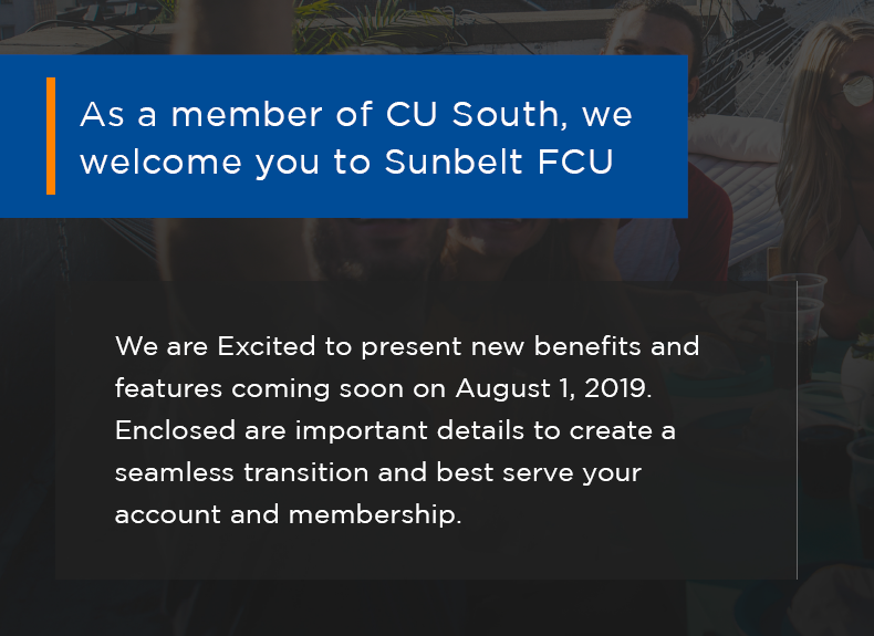 Credit Union South Updates