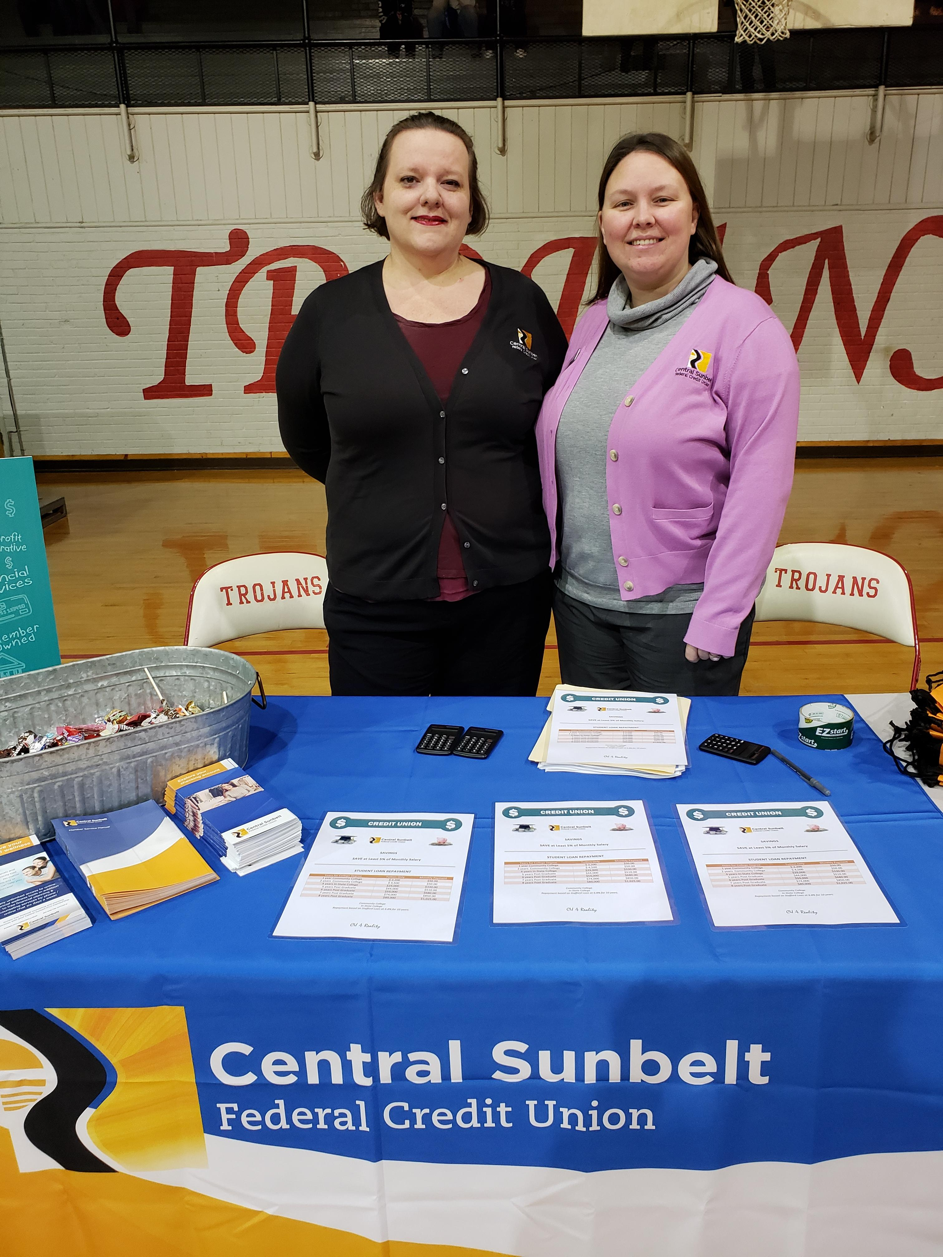 Central Sunbelt at the Reality Fair, Magee High School in Simpson County Mississippi