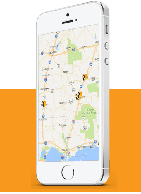 locate free ATMs and service branches with the Sunbelt Cloud Branch Sunbelt Central App