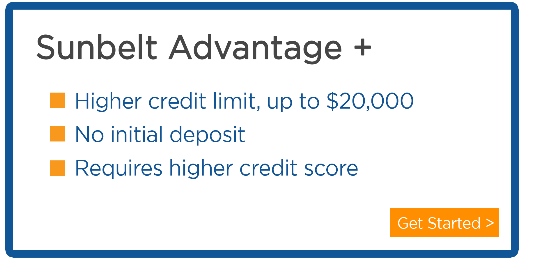 Sunbelt Credit Advantage at Central Sunbelt