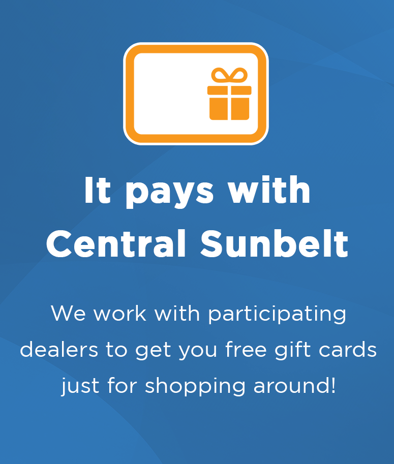 It pays with Central Sunbelt