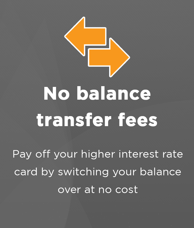 No balance transfer fees