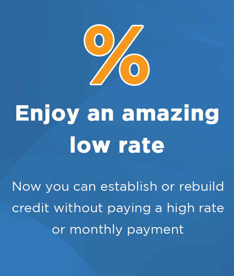 Enjoy an amazing low rate