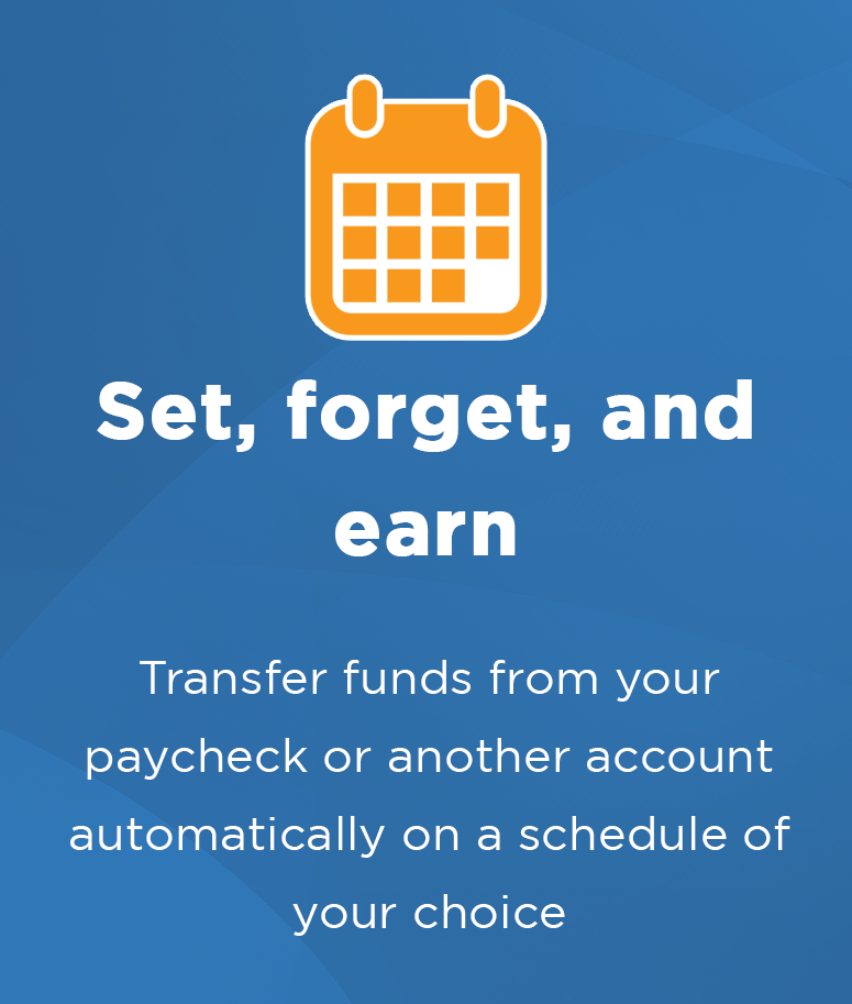 Benefits of a savings account at Central Sunbelt - Schedule your transfer funds
