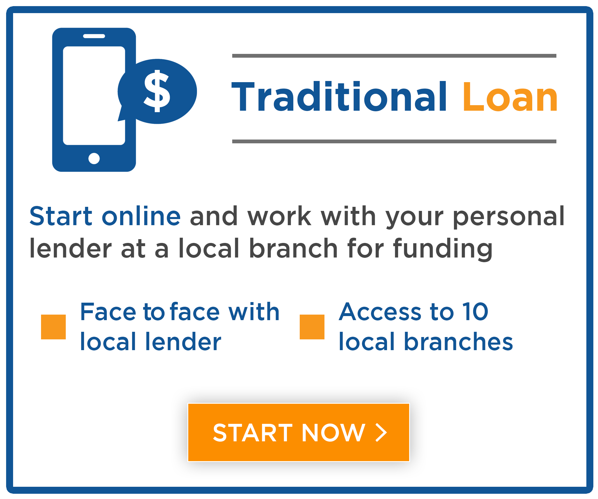 Start your loan process online and finish in branch with your personal lender at Central Sunbelt FCU