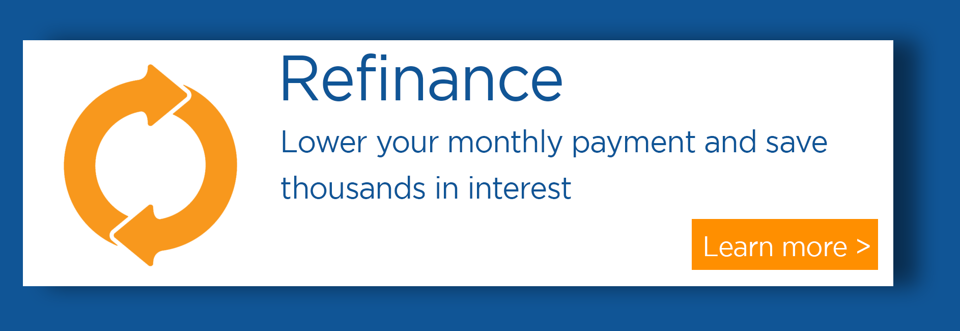 refinance your home and save with Central Sunbelt
