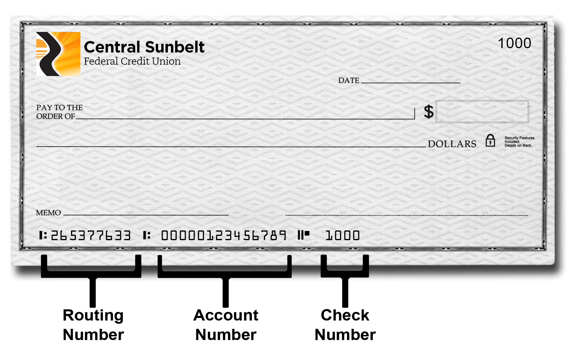 central sunbelt routing number