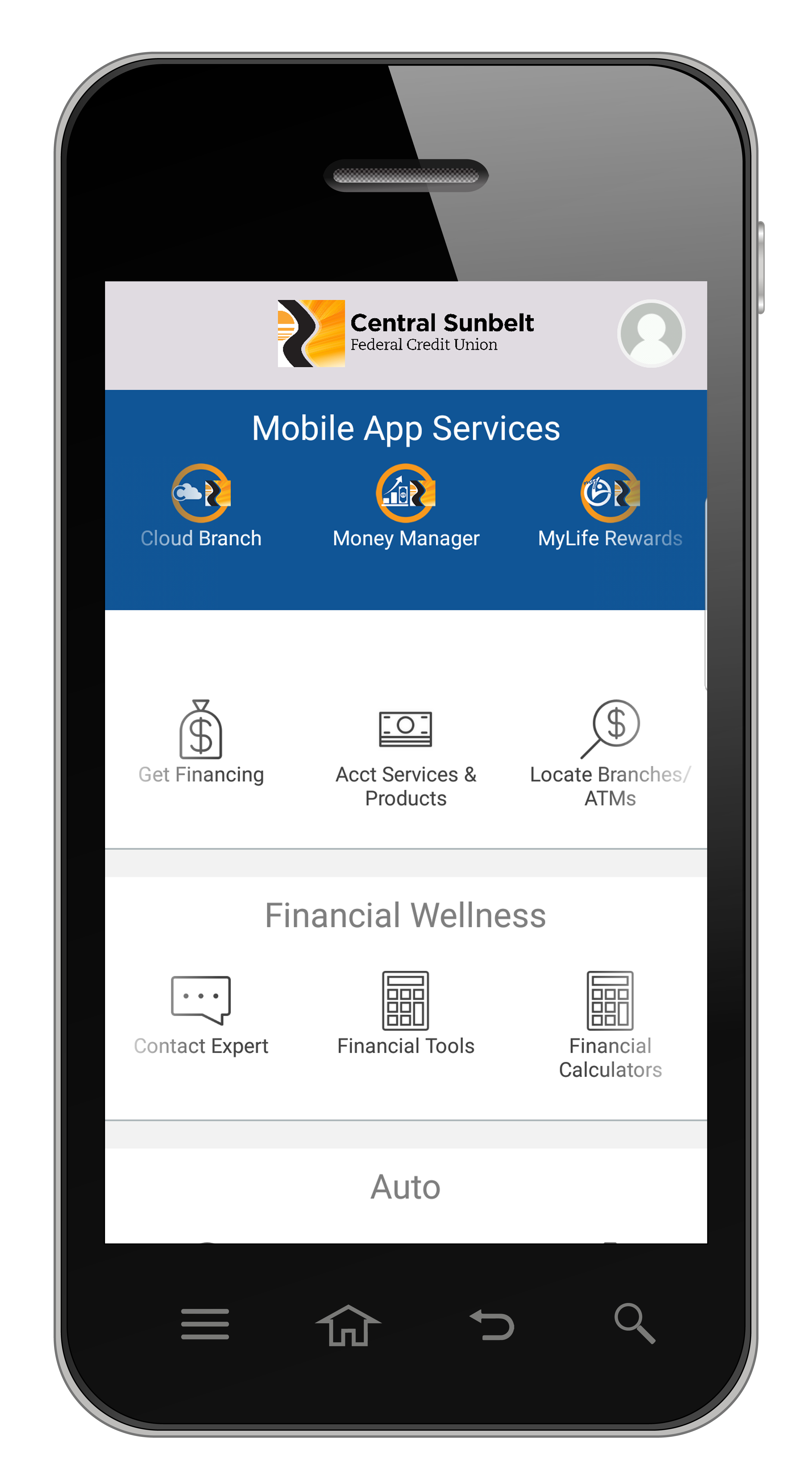 Unlock the ultimate banking app with Sunbelt Central